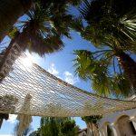 Hammock in the garden of Casa Tekne - Fitness Retreats Ibiza