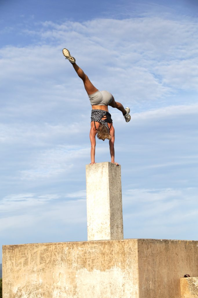 Balance training at Tekne Fitness Retreats Ibiza