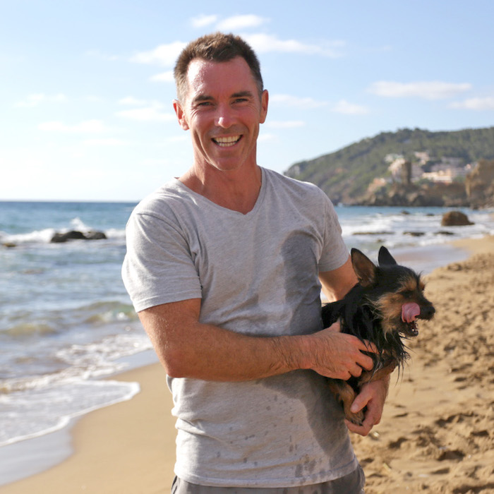 Des Aspill, Founder and Head Coach at Tekne Fitness Retreats Ibiza