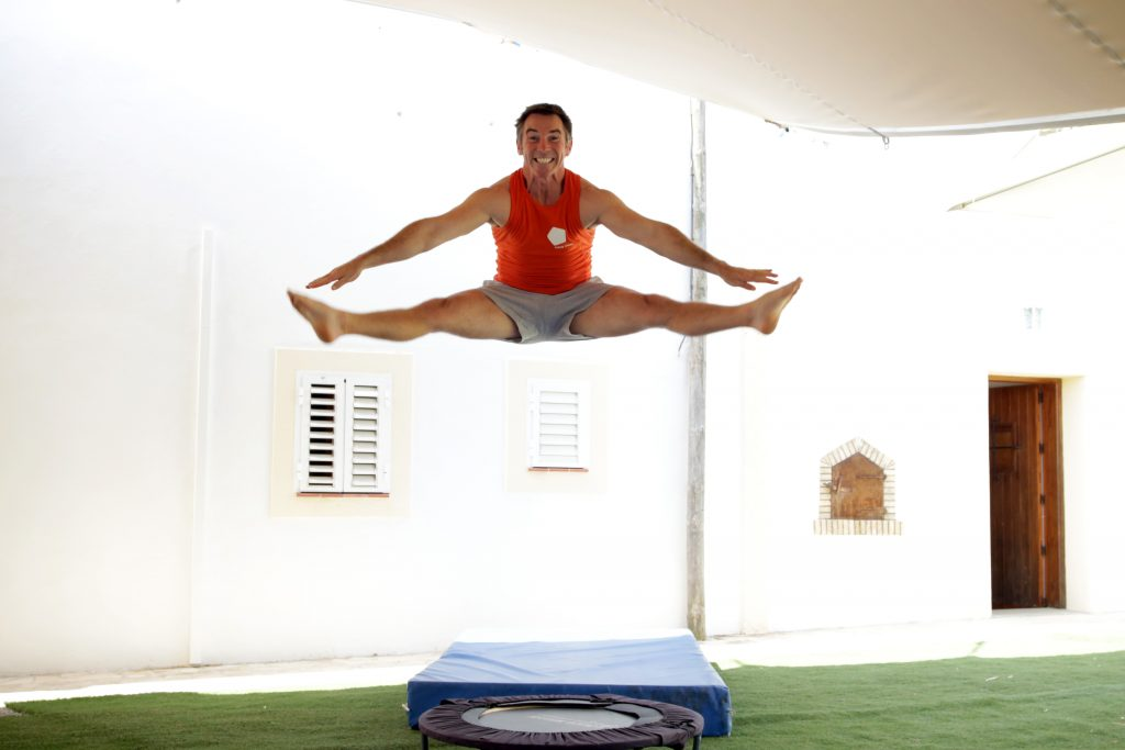 Des in the sky at Tekne Fitness Retreats Ibiza