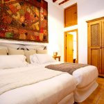 Luxurious double rooms at Tekne Fitness Retreats Ibiza