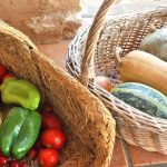 Fresh vegetables from the organic garden for healthy food at Tekne Fitness Retreats Ibiza