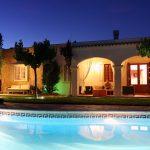 Casa Tekne by night - Fitness Retreats Ibiza