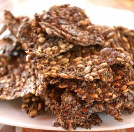 Seed Crackers are a typical homemade snack at Tekne Fitness Retreats Ibiza