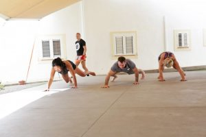 Monkeying around at Tekne Fitness Retreats Ibiza